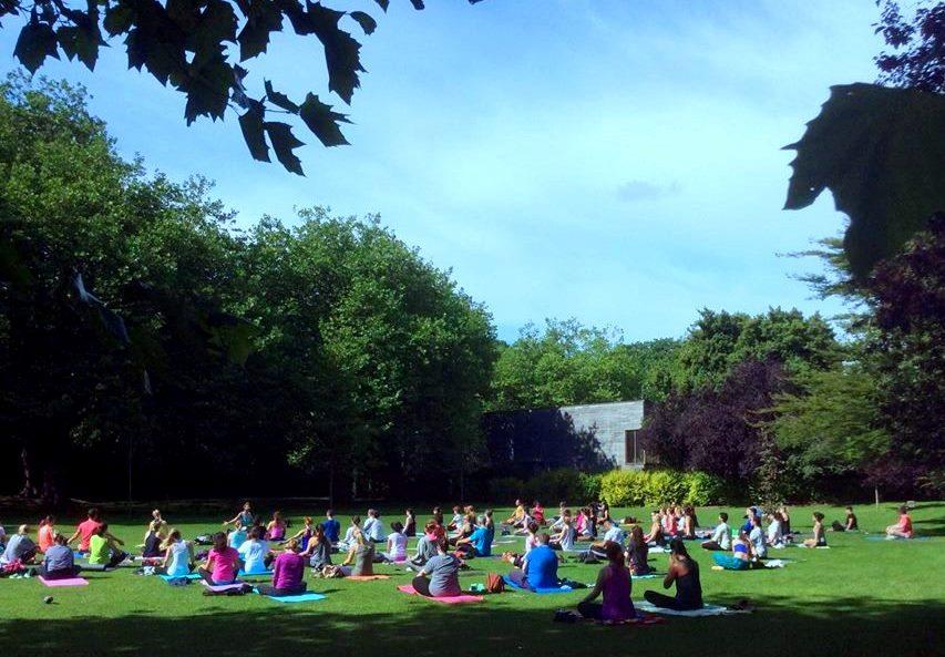 Yoga in the Park Dublin