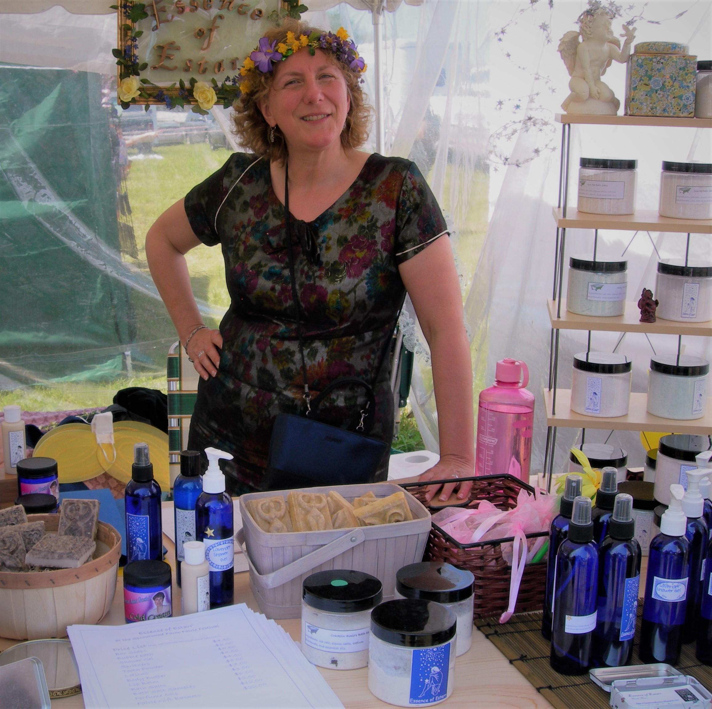 Essence of Estarr at the Fairy Festival